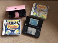 Nintendo DS console and games