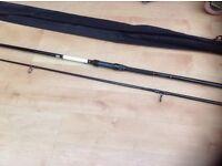 New pair of slimline carbon carp rods