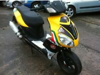2014 64 REG MOTOBI IMOLA 125cc SCOOTER / MOPED .MOT DECEMBER