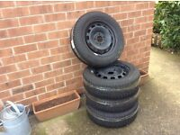 Winter tyres size 175/65 R 14T