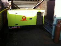 PRAMAC GSW 45 kVA Three Phase Perkins Diesel Generator £5500 ONO