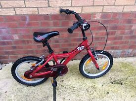 Reduced price..under HALF price, compared to Shop prices, Childs Bike, as new..