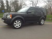 LANDROVER DISCOVERY 3 HSE 2006 TDV6 7 SEAT BLACK/CREAM LEATHER (DISCO 4 FACELIFT VERSION)