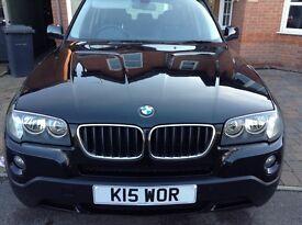 BMW X3 LCI facelift model SE exclusive 177bhp fsh ,full mot , A1 condition