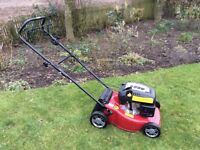 Mountfield HP454 petrol rotary mower, 45cm cut, hand propelled.