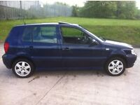 VW POLO 1.4 SPARES OR REPAIRS NO MOT ISLE OF MAN IMPORT