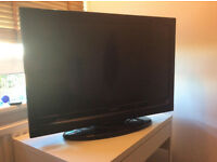 32 inch Hitachi HD flat screen TV with HDMI