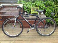 Bicycle westcoast black . Great bike £100.