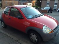 Red FORD KA with low mileage