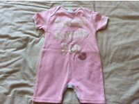Brand new girls reading football club outfit age 3-6mths
