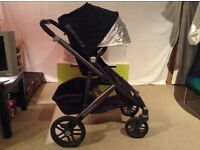 Uppababy Vista (2015) pushchair system, hardly used (converts to double!) RRP £699.95