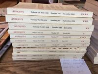 Antiquity Quarterly Archaeology Review Magazines x 50