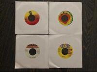 "100 00s Jamaican Reggae/Hip-Hop 7"" singles"