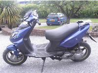 scooter 2008 [58.plate] 12.months mot pulse 50 sports scout four.stroke engine[gy6.honda]