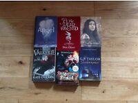 Mixed fiction teenage books
