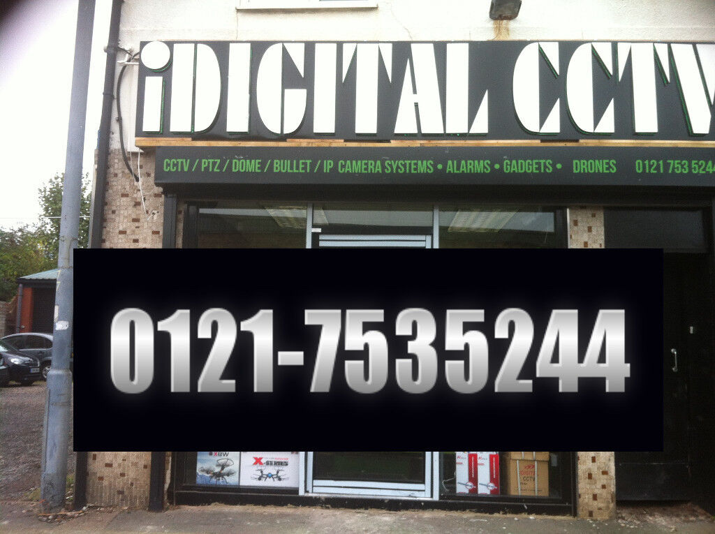 cctv camera system new offer day night supplied and fitted