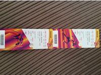 2x Cat B IAAF USAIN BOLT World Championship Athlethics tickets 5th AUG