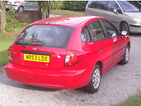 kia rio ice eight months mot service history recent cam belt and clutch with receipts