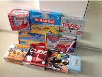 COLLECTION OF BOARD GAMES