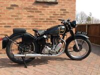 Ajs model 18 1947 matching frame & engine numbers
