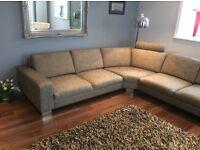Large corner sofa very modern