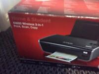 Lexmark 3 in one print scan and copy printer never been used