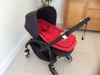 Bugaboo Bee 3 pushchair and accessories- for use from birth - 3 years old - great condition.