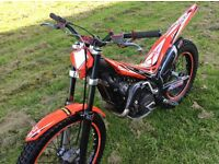 Trials bike beta 250 2012