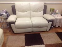 2 seater power recliner excellent condition
