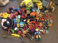 selection of boys toys