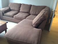 3 seater corner sofa free to a good home - collection only