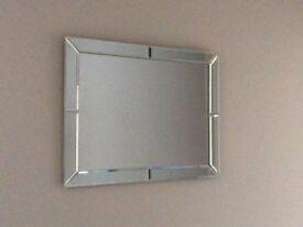 Rectangular Bevelled Mirror 510mm x 400mm