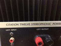 Harman Kardon Citation Twelve power amplifier
