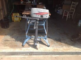 Yamaha 2b outboard motor for spares or repair.