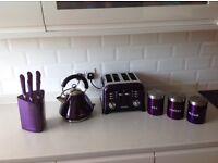 Morphy Richards complete kitchen set