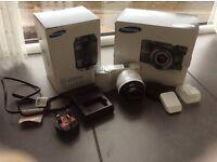 Samsung NX1000 wi-fi smart camera.