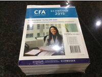 CFA 2015 Level II - Books 1-5 plus Practice Exams - un-opened