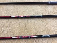 Black panther driver 3 wood and Dunlop tour3 hybrid