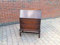 1930's solid oak bureau