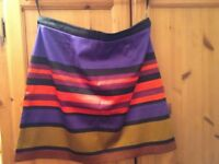 River Island skirt, size 16. great colours. Check out my other items for sale, great prices!