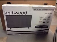 """BRAND NEW 43"""" Smart 4K Ultra HD with Freeview & Freeview HD Play TV"""