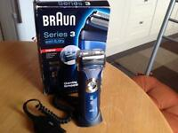 New Braun series 3 340 wet & dry shaver stand power cable ideal gift !!!!