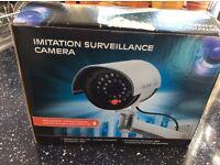 Imitation surveillance camera