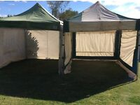 Gala tent shade pro professional gazebo marquee tents x2 with sides festival market carboot garden