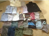 REDUCED- Men's clothing bundle, size large, very good condition