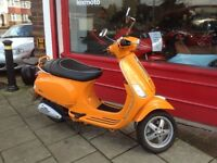 VESPA S 50cc DE RESTRICTED GREAT LITTLE SCOOTER DELIBERY CAN BE ARRANGED