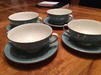 Vintage Soup Bowls Royal Doulton Reflection