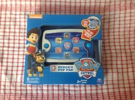 Paw patrol Ryder's pup pad new sealed