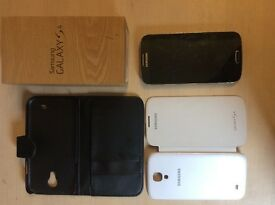 UNLOCKED SAMSUNG GALAXY S4 16GB FOR SALE- in original box with added accessories