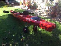 Wilderness Systems kayak Tarpon 140.